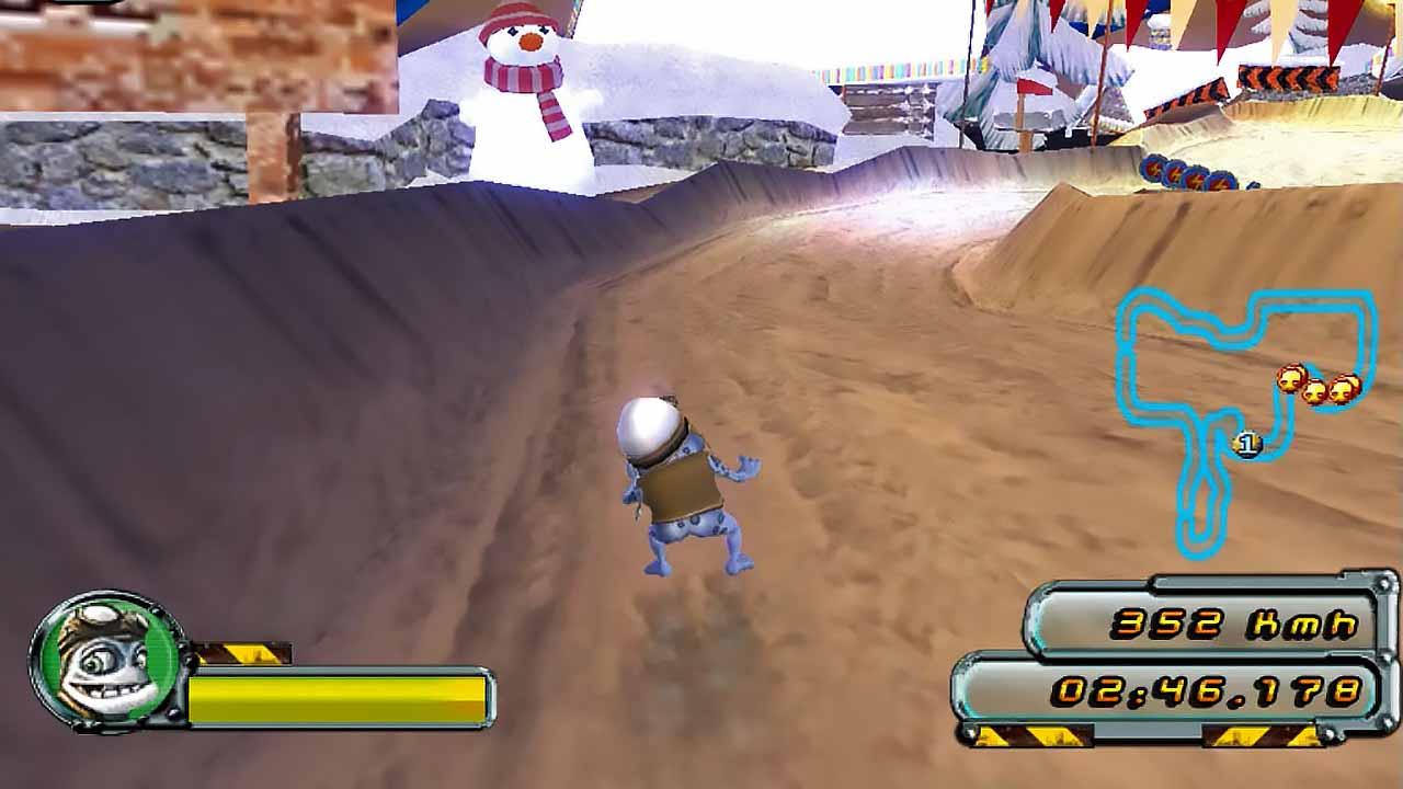دانلود بازی Crazy Frog Racer 2
