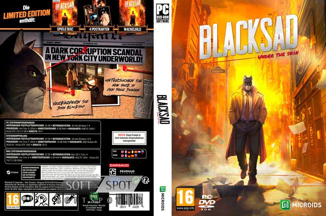 Blacksad Under the Skin Cover