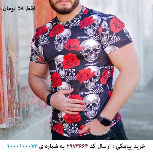 تیشرت مردانه مدل Vartan