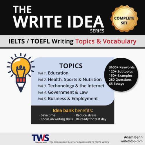 The Write Idea Complete Set (Vol. 1 - 5)